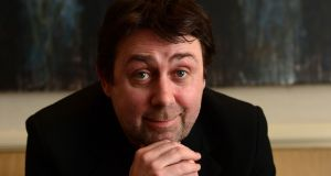 Comedian Sean Hughes, who has died aged 51. Photograph: Alan Betson