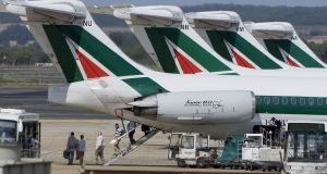 The sale of Alitalia, Italy's flag carrier, has been delayed until next April, adding to uncertainty in the European airline industry