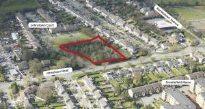 The 0.67-acre site is close to N11 and Killiney Shopping Centre