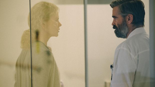 Nicole Kidman and Colin Farrell in Yorgos Lanthimos's The Killing of a Sacred Deer