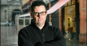 "Adrian McKinty: ""one of my favourite writers on the planet,"" says Ian Rankin. Photograph: Brenda Fitzsimons"