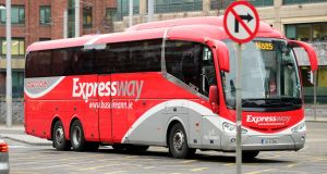 Part of Bus Éireann's problem is that it faces competition from rivals with lower labour costs in key businesses such as its Expressway service. Photograph: Dara Mac Dónaill