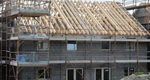 Official figures on house building in Ireland continue to be out of kilter with the reality on the ground. Photograph: Alan Betson