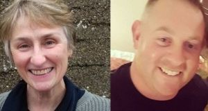 Clare O'Neill died when a tree hit her car in Co Waterford and Michael Pike died while cutting a tree in Co Tipperary during Storm Ophelia