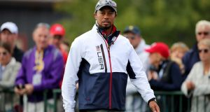 Tiger Woods has been given the green light by his doctor to step up his rehabilitation from back surgery with no restrictions, according to his agent. Photograph: Peter Byrne/PA Wire.