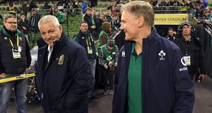 Joe Schmidt would be many people's ideal replacement for Warren Gatland as Lions head coach. Photograph: Getty Images