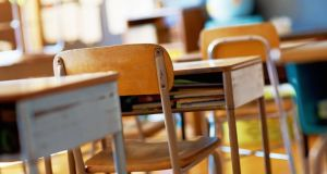 School classrooms remained empty for a second day on Tuesday. Photograph: iStock