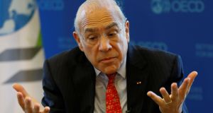 Angel Gurria, Secretary-General of the Organisation for Economic Cooperation and Development (OECD): group warns the UK economy is on track to be crippled by its EU divorce