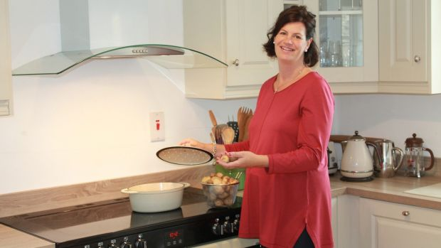"Belinda Bielenberg: ""My favourite kitchen gadget, although I wonder if technically it is one, is my beige Earl and Wilson one-pot-wonder casserole dish."""