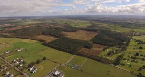 The site of the proposed €850m Apple data centre at Athenry, Co Galway, which has been approved by An Bord Pleanála.  Mr Justice Paul McDermott has set the date of October 25th to hear objectors' applications for leave to appeal the decision
