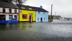 One homeowner's experience of flooding due to Hurricane Ophelia