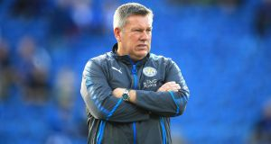Fi Leicester have sacked manager Craig Shakespeare.  Photograph: Mike Egerton/PA Wire.