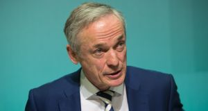 Minister for Education Richard Bruton: his decision to close schools for a second day was widely backed by school bodies.  Photograph: Gareth Chaney Collins