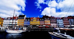 The Nyhavn neighbourhood, which was originally a busy commercial port, is now a pretty neighbourhood filled with waterside bars and restaurants.