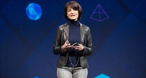 Regina Dugan has left Facebook after 18 months at the company. Photograph: Anthony Quintano