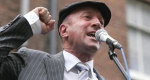 Michael Healy-Rae TD speaking in Dublin in 2012. Photograph: Dara Mac Dónaill /The Irish Times
