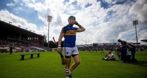 Tipperary fullback James Barry is on the Ireland Shinty squad. Photograph: Inpho