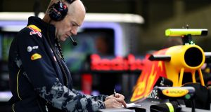 Adrian Newey, the chief technical officer of Red Bull Racing: he among the speakers at The Future festival. Photograph:   Mark Thompson/Getty Images