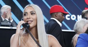 Kim Kardashian suffered another post-Paris panic attack and things fail to improve when the paparazzi capture apparently unflattering photos of her bikini-clad body. Photograph: Evans Vestal Ward /NBCUniversal/One Voice: Somos Live!/Getty Images