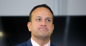 "Taoiseach Leo Varadkar said ""as a Government we have lost patience"" with the banks over the tracker mortgages issue, and described the controversy as ""scandalous"". File photograph: Gareth Chaney/Collins"