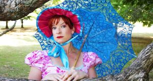 Penny Ashton is doing a one-woman show inspired by the work of English novelist Jane Austen.
