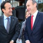 The Dáil exchanges between Leo Varadkar and Fianna Fáil leader Micheál Martin over the past few weeks have, at times, bordered on the hostile. File photograph: Bryan O'Brien