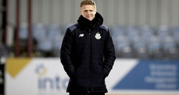 Damien Duff says that early morning training sessions have been the best for his Shamrock Rovers under-15s team. Photo: Ryan Byrne/Inpho