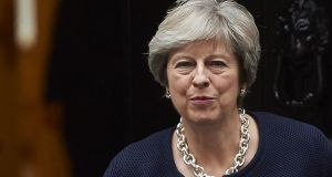 "British prime minister Theresa May: ""We hugely value the contributions that EU nationals make to the economic, social and cultural fabric of the UK.""   Photograph: Niklas Halle'n/AFP/Getty Images"