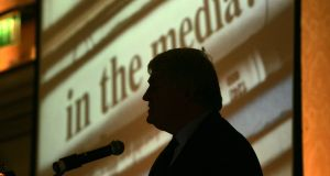 Denis O'Brien's Communicorp is the parent company of Newstalk, Today FM, 98FM and Spin, from which all 'Irish Times' journalists have been banned under an edict. Photograph: Cyril Byrne