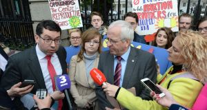 Senator Rónán Mullen and  Mattie McGrath TD both voted against the recommendation. Photograph: Dara Mac Dónaill