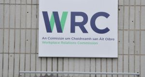 Workplace Relations Commission: Process leading up to dismissal lacked fairness. Photograph: Alan Betson/The Irish Times