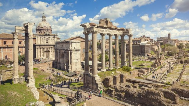 The Forum Romanum, Rome. Take a three-night city break from €170