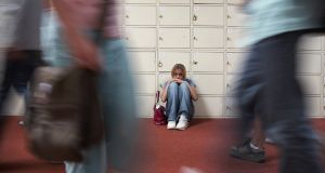 It is no surprise that there is a peaking of stress, adjustment and mental-health problems for teens in the first years of secondary school. Photograph: iStock