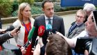 "Leo Varadkar  in Brussels, on Thursday: ""A customs union is a little bit like a marriage, if you want to put it that way. And once you're committed to a marriage, you're committed to it,"" he said. Photograph: Julien Warnand/EPA"