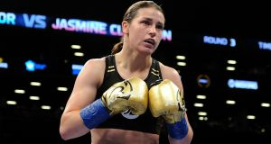 Katie Taylor will fight on the undercard of Anthony Joshua's bout with Carlos Takam in Cardiff on Saturday October 28th. Photo: Emily Harney/Inpho