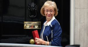 Leader of the house Andrea Leadsom told the Commons the government would listen to MPs' concerns but would not halt the roll-out of universal credit. Photograph: Chris J Ratcliffe/Bloomberg