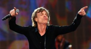 "Mick Jagger in action: Generation Jagger is described as ""the great underutilised resource"" by Pat Divilly,  founder of the recently launched online platform Mature Gurus, which connects experienced business people with those in need of their skills. File photograph: Simone Joyner/Getty Images"