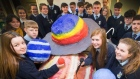 Dublin students make landmark call to space station