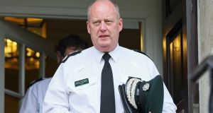 "PSNI chief constable George Hamilton: ""I'm absolutely confident that there will not be misconduct established."" Photograph: Brian Lawless/PA Wire"