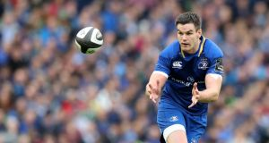 Leinster's Johnny Sexton is set to start against Glasgow Warriors in the Champions Cup. Photo: Inpho