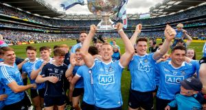 There will be no representatives from the All-Ireland champions Dublin in the international rules series this year. Photo: James Crombie/Inpho