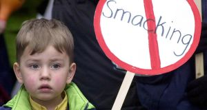 Legislation which allowed parents to use force against their children in Ireland was repealed almost 17 years ago, and a complete ban on smacking was introduced in 2015. Photograph: PA