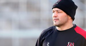 Rory Best is set to make his first appearance of the season on Sunday, off the bench. Photograph: Inpho