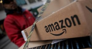 Amazon has said it will announce a decision on its new campus next year. Photograph: Mike Segar/Reuters