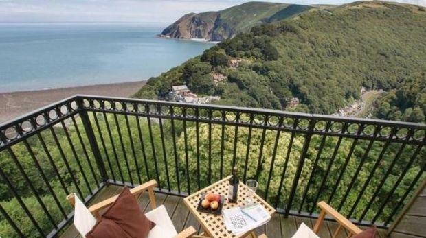 Penthouse at Castle Heights, Lynton, Devon, England