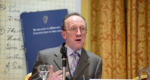 Prof Gerry Whyte from TCD. Photograph: Alan Betson