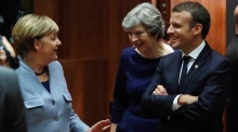 Macron: Phase two of Brexit 'is in the hands of Theresa May'