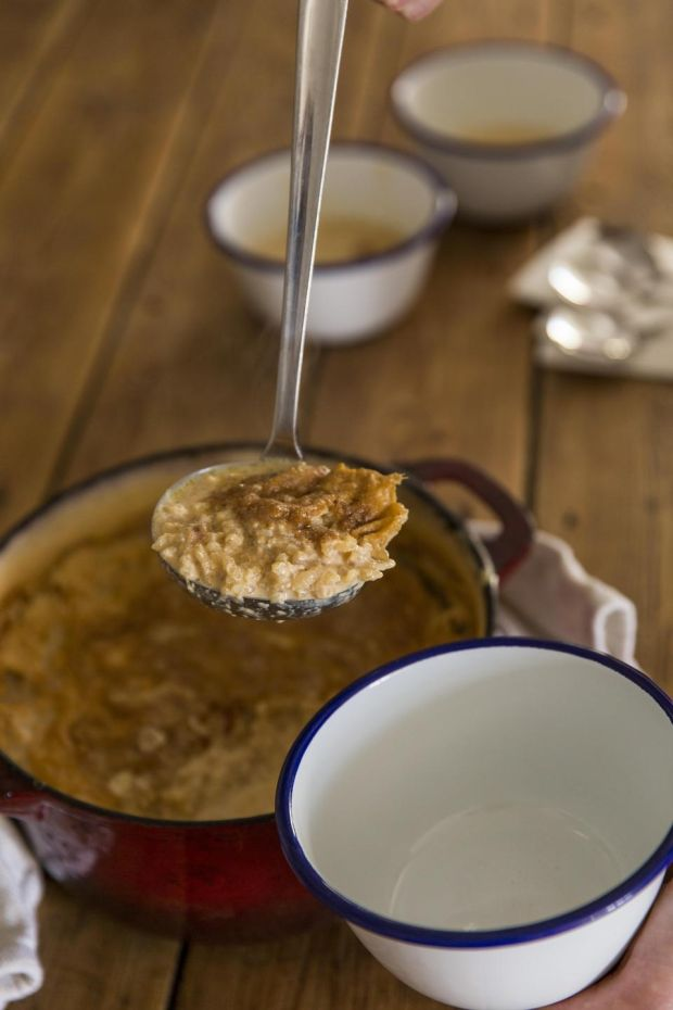 Caramelised rice pudding. Photograph: Emma Jervis