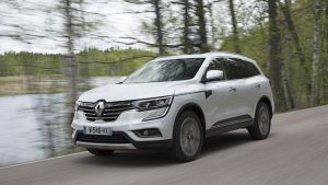The Renault Koleos doesn't look quite as smooth as the very good-looking Kadjar, but it has a pleasant, bluff uprightness