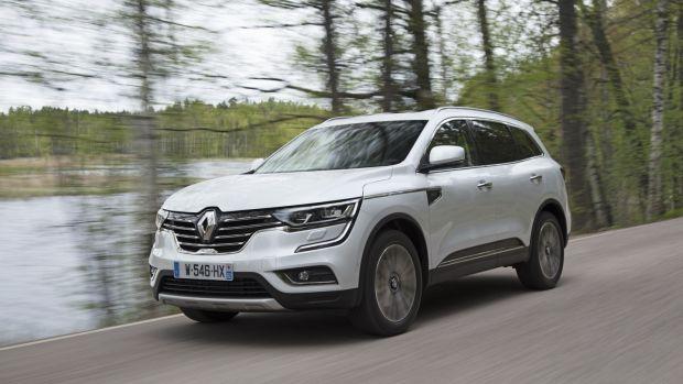 Renault Koleos Bigger Better But Still Far From Best
